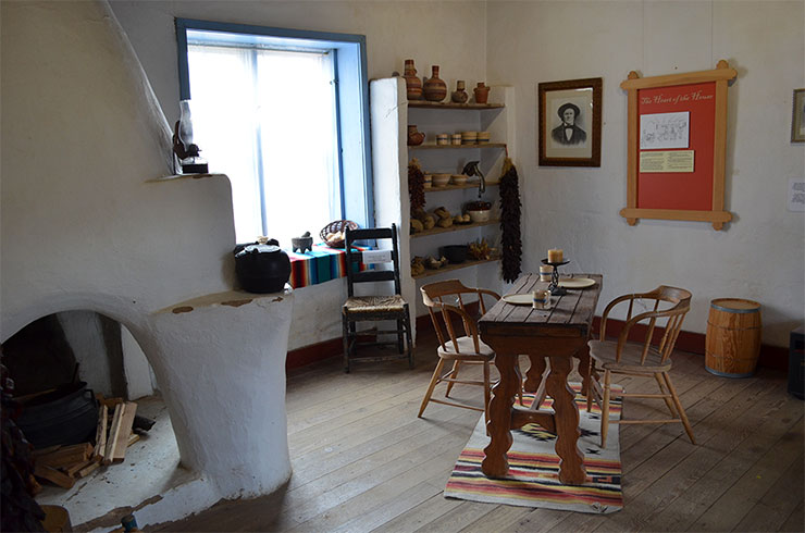 Kit Carson Home and Museum Living Room